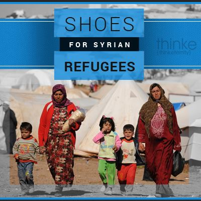 Shoes for Syrians