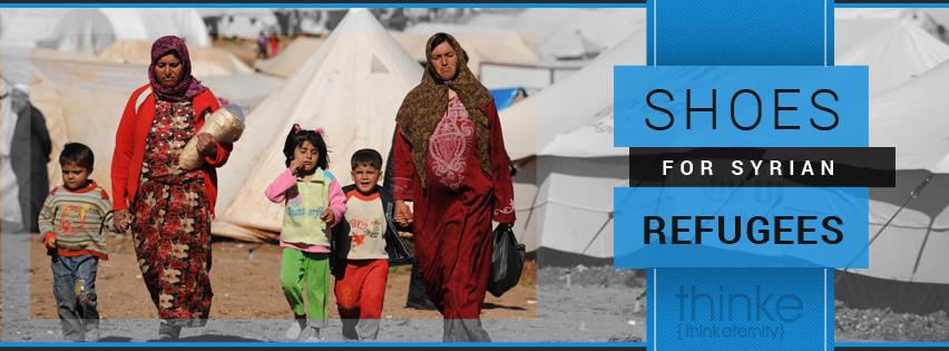 Shoes for Syrians - Destiny Image and Think Eternity