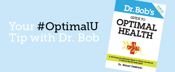 OptimalU tip with Dr Bob.
